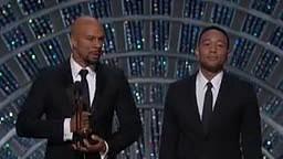 John Legend and Common Oscar Speech for Best Original song