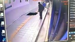 Sinkhole Swallows Pedestrians in Seoul Korea