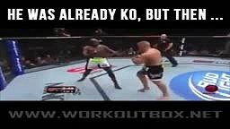 He was Already KO but then...