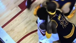 FIGHT! Lebron James vs Patrick Beverly