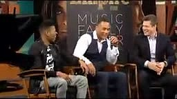 Hey Empire fans: Turns out all three Lyon brothers can sing! Trai Byers (Andre) proved it when he and Bryshere Gray (Hak