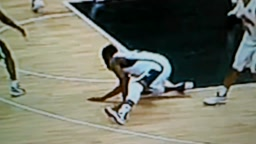(HILARIOUS)JAMES HARDEN GETS CROSSED INTO A SPLIT VS NIGERIA