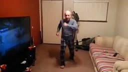 Watch Pops GET DOWN with the Dance Moves