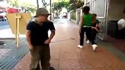 WATCH this Street Performing Kids Drummer Skills