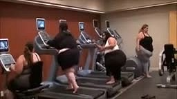Big Girls Can Hit the gym too