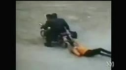 Customer Plays Hero and Stops Robbers