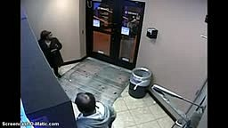 This is why you should NEVER Open the door at an ATM at night