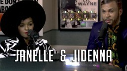 Janelle Monae introduces her new artist, Jidenna to Ebro (Hot 97 Interview)