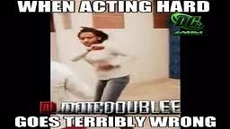 When acting Hard Goes Terribly Wrong