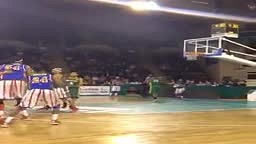 @dtaylorball getting his head OVER the rim on a windmill lob from out of bounds! #dunkademics #dunk #harlemglobe
