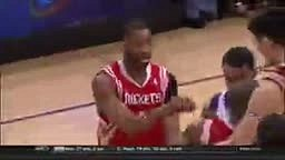 Who Remembers when Shaq Threw Yao Ming Tracy McGrady and the WHOLE Rockets Team to the Floor