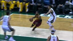 Kyrie Irving No-Looks to LeBron James for the Super Smash