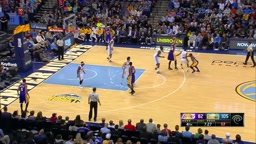 OMG!! Dwight Buycks Drops Gary Harris To the FLOOR With Step-Back Crossover!! (Ankle-Breaker)