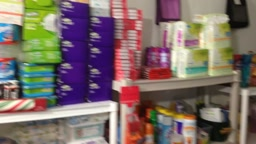 EXTREME Couponing Stockpile Room