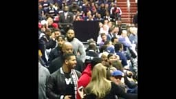 Wizards Fans Boo Drake as He Walks to His Seat During Game 3 in Washington