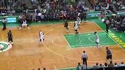 Cavs Kenderick Perkins THROWS Boston Celtics Jae Crowder to the Floor