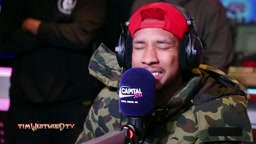 Tyga Freestyles For Tim Westwood in London