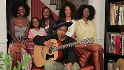 Watch Lauryn Hill Perform Acoustic Version Of Doo Wop with 7 Year-Old Daughter Sarah Marley