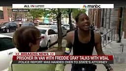 Man arrested in the same Police Van as Freddie Gray Speaks Out