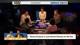 Juan Manuel Marquez Tells Pacquiao To His Face Floyd Would BEAT HIM