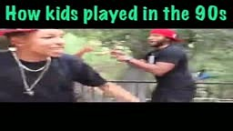 How Kids Played in the 90s vs. How Kids Play Now! @officiallykhadia @torreihart @rudegentleman @lauraclery @rawswagger