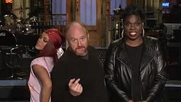 Rihanna and Louis C.K. Cause Leslie Jones To Lose Control on SNL