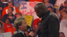 Shaquille O'neal Hosts WWE Monday Night Raw!!!