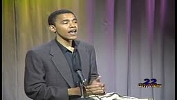 RARE FOOTAGE Of Barack Obama  From 1995: Talks Racial Tension In America & Life as a Black Man!