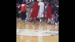 WATCH: Lil Wayne Almost FIGHTS REFEREE For Bad Calls During Celebrity Basketball Game In St. Louis!