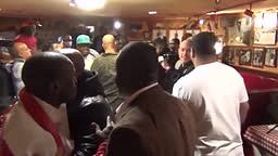Floyd Mayweather Sr Is Provoked, Loses his cool and trys to FIGHT