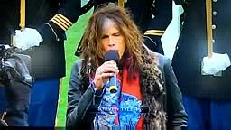 AEROSMITH'S STEVEN TYLER MESSED UP STAR SPANGLED BANNER SONG