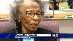 NO EXCUSES! 'Don't Want It, Do It' Says 99-Year-Old College Graduate from Cali