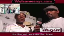 RON ARTEST tells Ap 1nabillion HE RUNS NYC STREETBALL