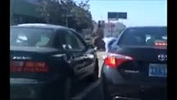 LA Morning Rush Hour Becomes Morning Punch Hour