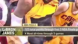Lebron James Sausage EXPOSED on National Television Cavs vs Warriors Nba Finals 2015