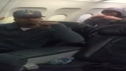 Harrison Barnes CAM catches GS Warriors Celebrating on Plane Ride Back to Cali