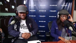 WATCH: Little Simz does a 'Five Fingers Of Death' FREESTYLE on Sway In The Morning.