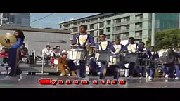Crenshaw High Band Does Their Best Drumline Rendition