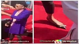 WTF August Alsina wears womens clothing to BET awards