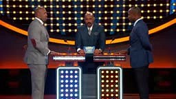 I'm the damn host! This Terrell Suggs moment from ‪#‎CelebrityFamilyFeud‬ had us rolling