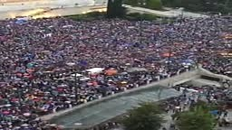 1000s of protesters have gathered outside Parliament in Athens as Greece's financial crisis appears to be near a breakin