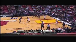 LeBron James jumps over John Lucas for alley-oop: Chicago Bu