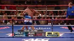 Shane Mosley -vs- Ricardo Mayorga KO Rd 12