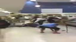 White guys Fighting at Publix Supermarket