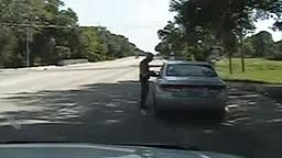 Newly released dashcam footage shows Sandra Bland's arrest before she was found dead in jail