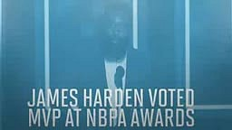 NBA players vote James Harden MVP over Stephen Curry