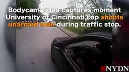Released video of the Univ of Cincinnati cop KILLS Young Black Driver after grilling him on whether he had his driver's