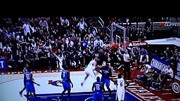 Blake Griffin Dunks Over Perkins Head DUNK Of The Year!