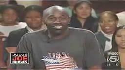 OMG!! This Crack Head On Judge Joe Brown is too Funny!