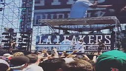 Kid Ink Performs As Special Guest At L.A. Leakers' HARD Festival Set